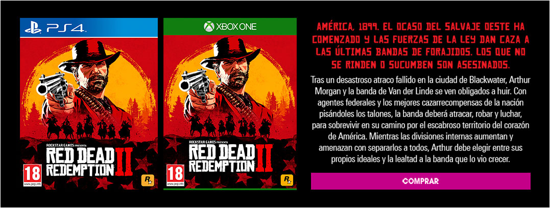 Red Dead Redemption II en GAME es