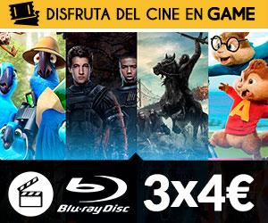 3x5 euros Blu Ray