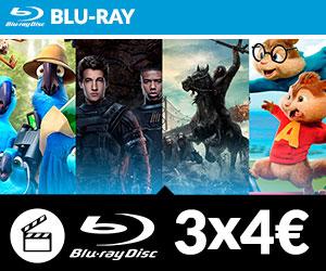 3x4 euros Blu Ray