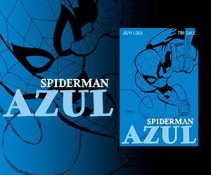 Spiderman Azul