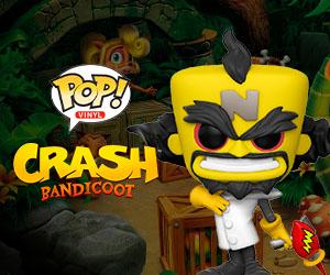 Figuras Pop! Crash Bandicoot