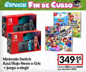 ¡FIN DE CURSO! Nintendo Switch + Juego a Elegir