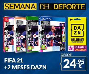 FIFA 21 + 2 meses DAZN