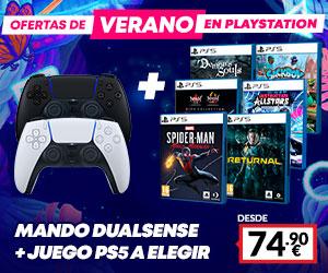 Pack Dualsense + juego