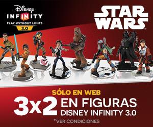 3x2 Figura Disney Infinity 3.0 Star Wars