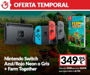 Consola Switch + Farm