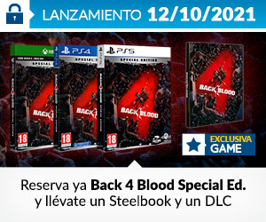 ¡Reservas! Black 4 Blood