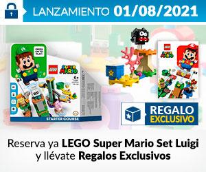 ¡Reserva! Lego Luigi
