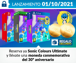 ¡Reserva! Sonic Colours
