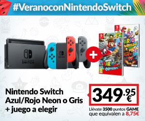 Consola Switch + juego Nintendo