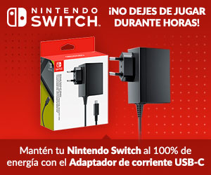 Cargador Nintendo Switch