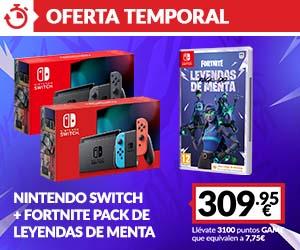 Oferta Switch + Juego SEGA