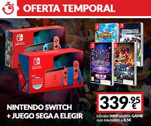 Switch + juego SEGA