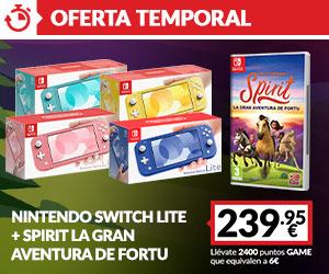 Switch Lite + Spirit