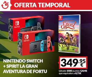 Nintendo Switch + Spirit