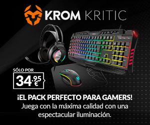 Pack Periféricos Krom Kritic
