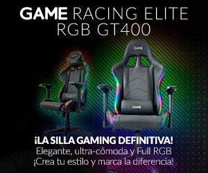 Silla gaming RGB GT400