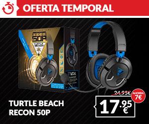 Auriculares Turtle Beach 50P