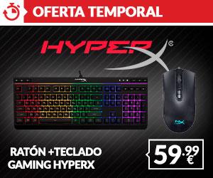 Oferta HyperX Teclado + Raton