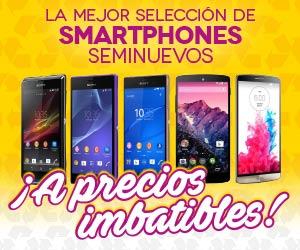Smartphones seminuevos