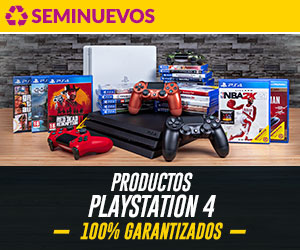 Productos PlayStation 4 Seminuevo