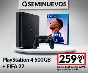 Consola PS4 Seminueva