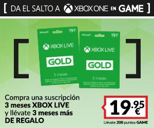 3 meses Xbox Live + 3 meses de regalo