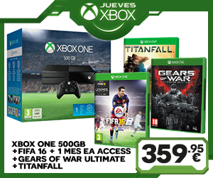 Pack Xbox One + Gears of War Ultimate + Titanfall