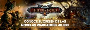 Novelas la Herejía de Horus