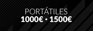 Portátiles entre 1000€ - 1500€