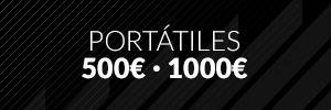 Portátiles entre 500€ - 1000€