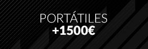 Portátiles +1500