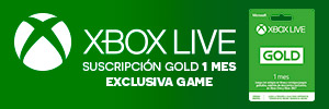 1 Mes Xbox Live GOLD - EXCLUSIVA GAME
