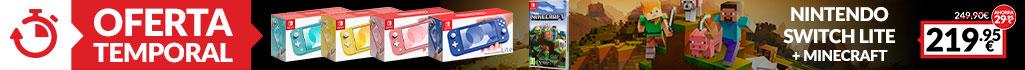 Nintendo Switch Lite + Minecraft