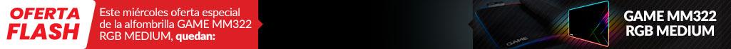 Oferta Flash GAME MM322 RGB MEDIUM