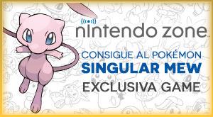 ¡Consigue al Pokémon Singular Mew!