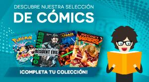 ¡Descubre nuestra selección de comics!