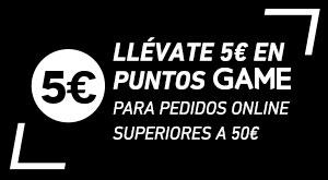 5€ en puntos GAME