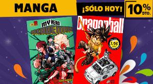 ¡Día del Libro! Manga