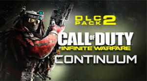 COD Infinite Warfare DLC Pack 2 - Continuum