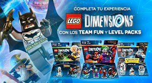 Packs figuras LEGO Dimensions