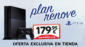 Plan Renove PS4