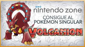 Consigue al Pokémon Singular Volcanion