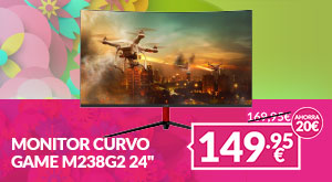 Monitor GAME M238g2 FHD 165Hz Curvo Con Altavoces