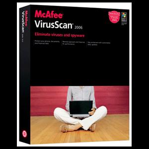 McAfee Viruscan 2006 (Actualiz.)