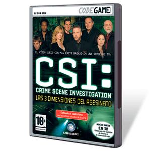 CSI: Las 3 Dimensiones del Asesinato Codegame
