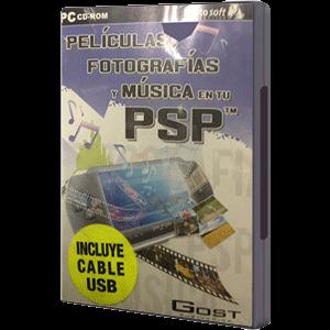 Peliculas, fotos & música en la PSP
