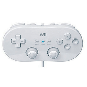 Mando Clasico Nintendo Blanco