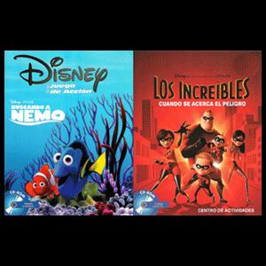 Buscando a Nemo + Increibles
