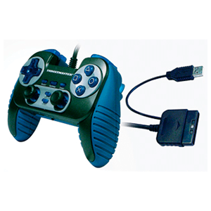 Control Pad Thrusmaster PS2 - Pc Dual Trigger